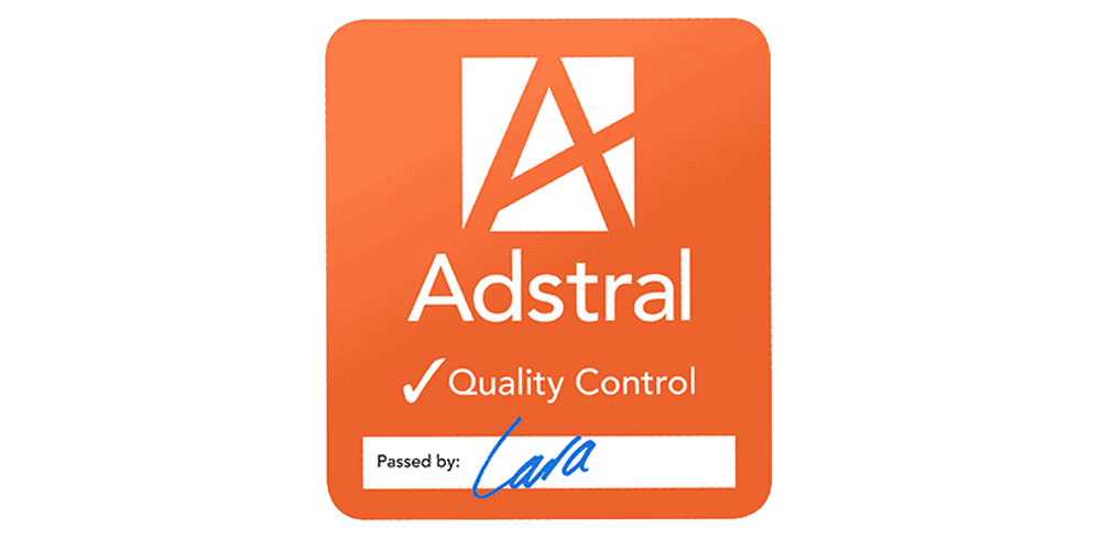 adstral assured contract packing