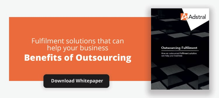 Benefits of outsourcing order fulfilment